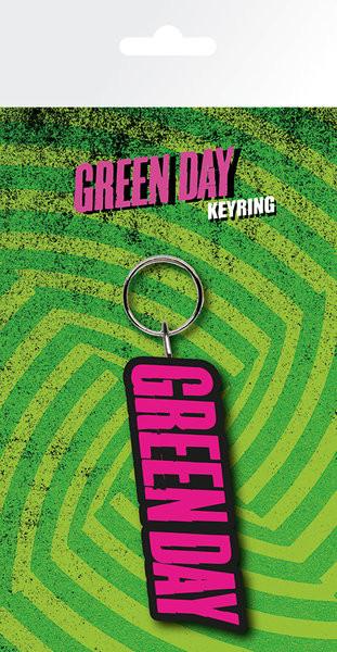 Green Day - Logo Nøglering