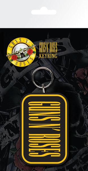 Guns N Roses - Logo Nøglering