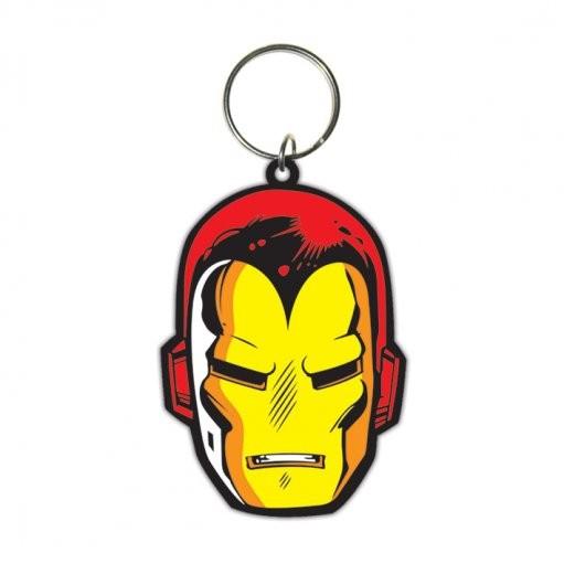 Iron Man - Face Nøglering