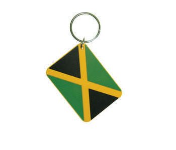 JAMAICAN FLAG Nøglering