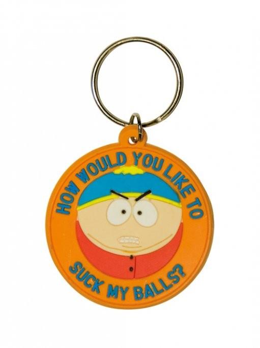 SOUTH PARK - Cartman / suck my balls Nøglering
