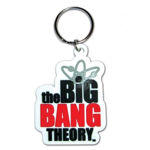 The Big Bang Theory - Logo Nøglering