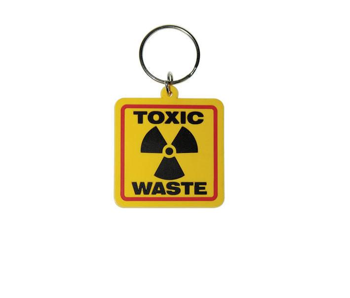 TOXIC WASTE Nøglering