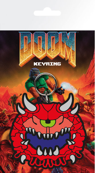 Doom Classic - Cacodemon Nøkkelring