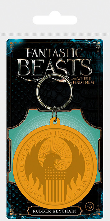 Fantastic Beasts And Where To Find Them - MACUSA Logo Nøkkelring