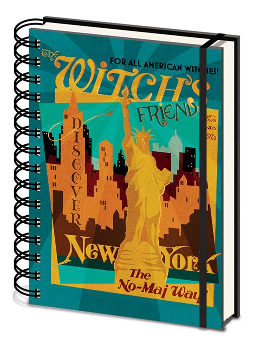 Fantastiska vidunder och var man hittar dem - The Witchs Friend Notatbok