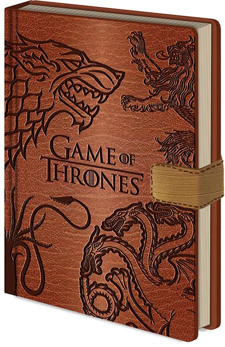 Game Of Thrones - Sigils Notatbok