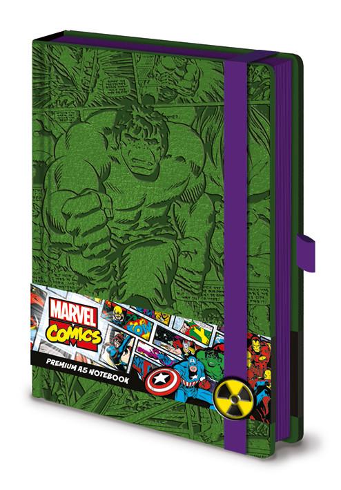 Notatnik Marvel - Incredible Hulk A5 Premium