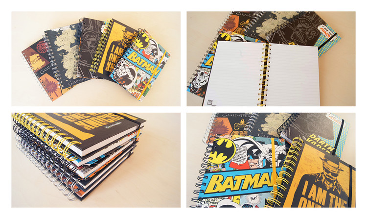 Marvel - Block Logo A5 Notesbøger