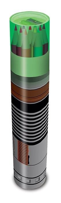 Star Wars - Lightsaber Pencil Tube Notitieblok
