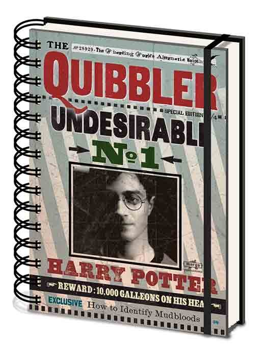 Harry Potter - Quibbler Notitieblok