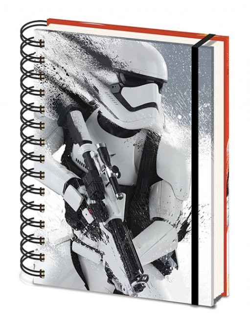 Star Wars Episode VII: The Force Awakens - Stormtrooper Paint A5 Notebook Notitieblok