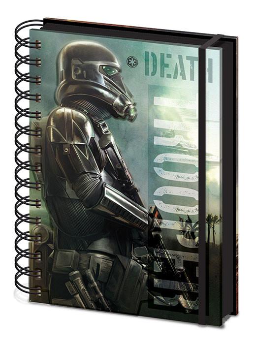 Notizbücher Rogue One: Star Wars Story  Death Trooper A5 Notebook