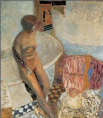 Nude by the Bath Tub, 1931 Festmény reprodukció
