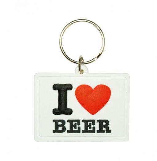 I LOVE BEER Nyckelringar