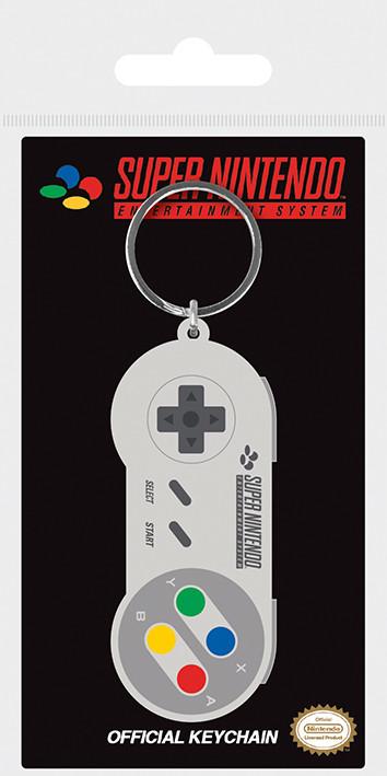 Nintendo - SNES Controller Nyckelringar