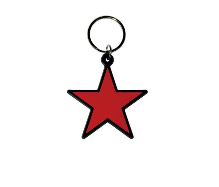 RED STAR Nyckelringar