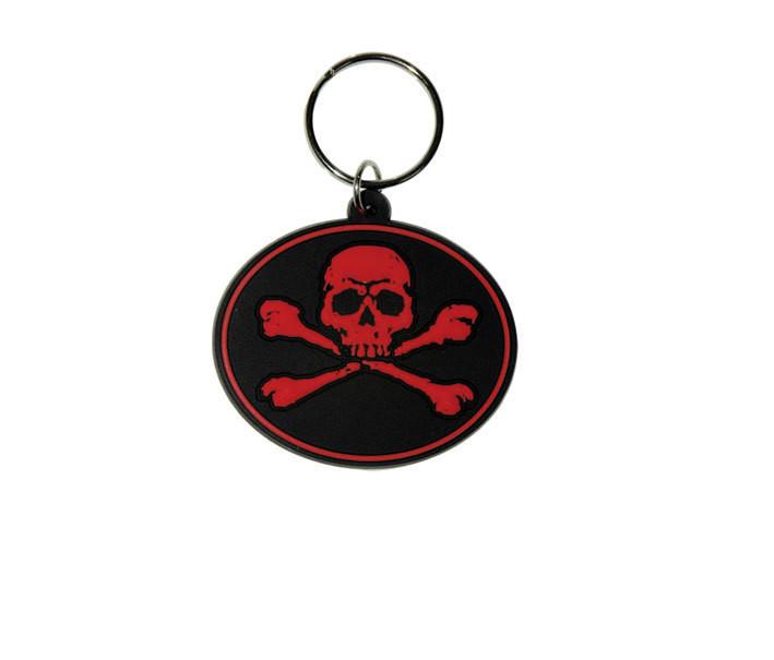 SKULL N'BONES - Red Nyckelringar