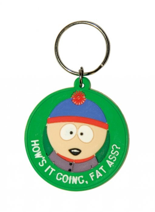 SOUTH PARK - Stan / fat ass Nyckelringar
