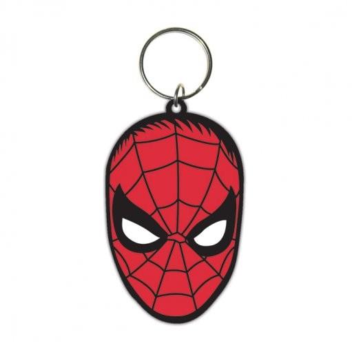 Spiderman - Face Nyckelringar