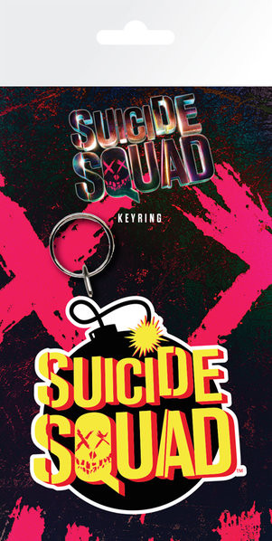 Suicide Squad- Bomb Nyckelringar