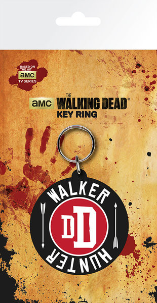 The Walking Dead - Walker Hunter Nyckelringar