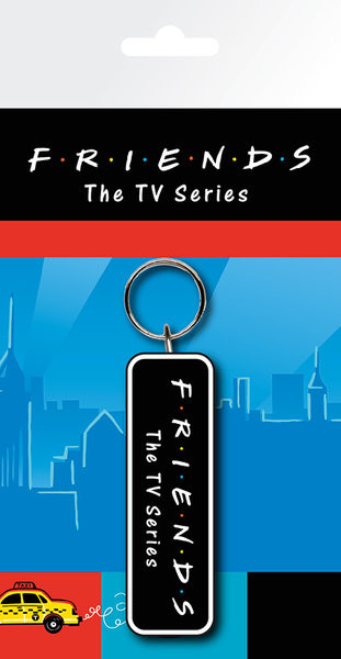 Vänner TV - Logo Nyckelringar