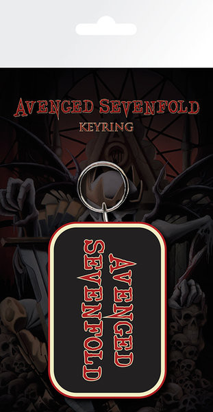 Avenged Sevenfold - Logo Obesek za ključe