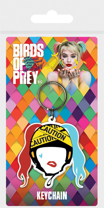 Birds Of Prey: And the Fantabulous Emancipation Of One Harley Quinn - Harley Quinn Caution Obesek za ključe