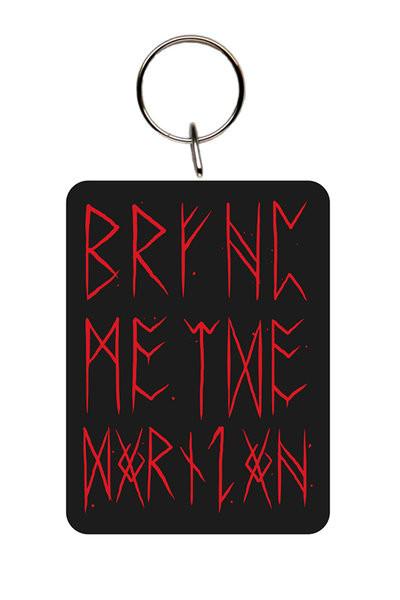 Bring Me The Horizon - Logo Red Obesek za ključe
