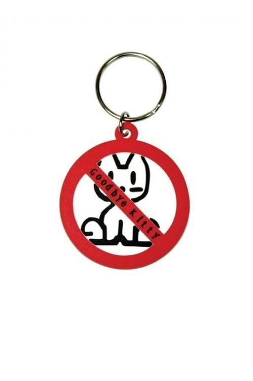 GOODBYE KITTY Obesek za ključe