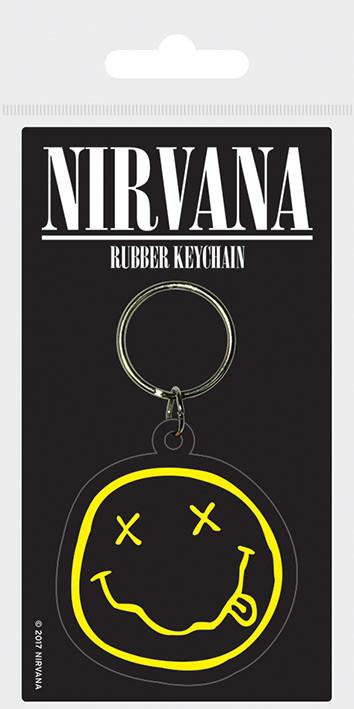Nirvana - Smiley Obesek za ključe