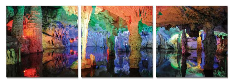 Colorful Cave Obraz