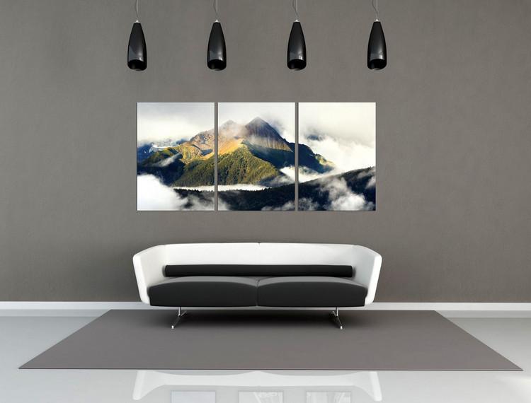 Misty Mountain Obraz