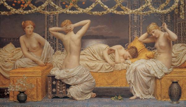 Reprodukce A Summer Night, 1890 - Letní noc