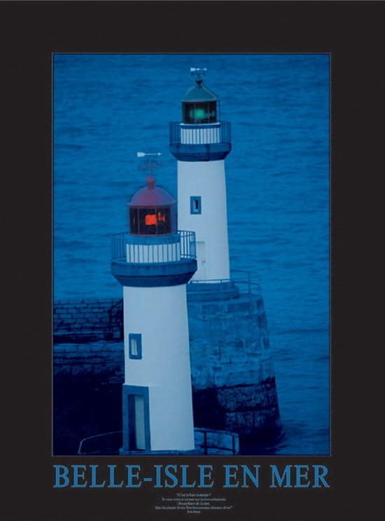 Belle-Isle-en-Mer, Obrazová reprodukcia