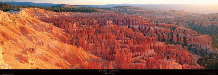 Reprodukce Bryce Canyon