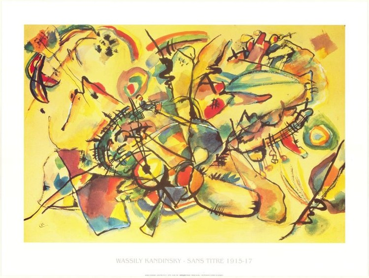 Composition 1917, Obrazová reprodukcia