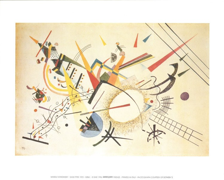 Composition 1922, Obrazová reprodukcia
