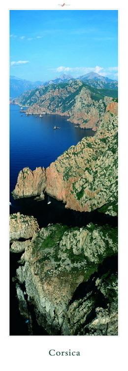 Corsica - Les calanques de Piana, Obrazová reprodukcia