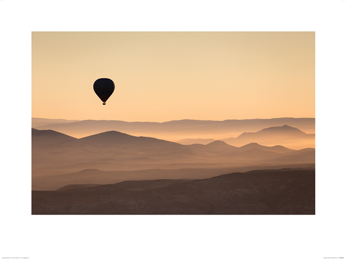 Reprodukce David Clapp - Cappadocia Balloon Ride