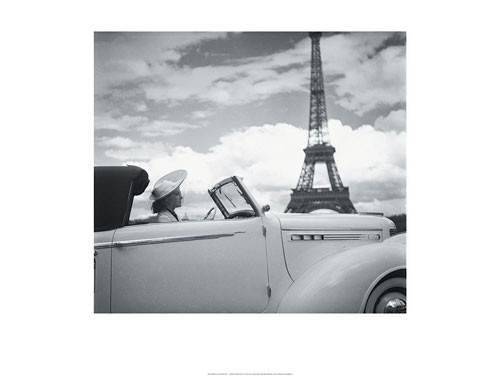 Reprodukce Femme au Volant Paris