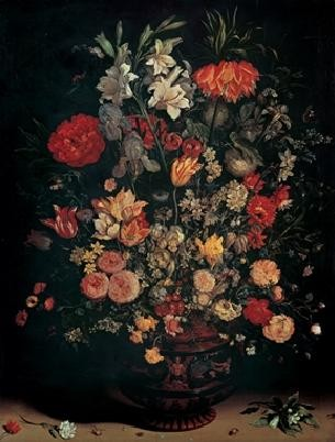 Jan Brueghel the Younger - Vase with Flowers, Obrazová reprodukcia