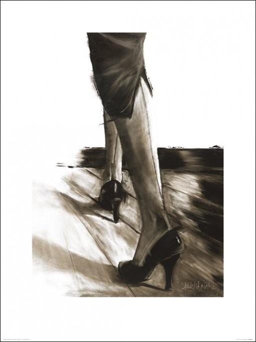 Janel Eleftherakis - Little Black Dress IV, Obrazová reprodukcia