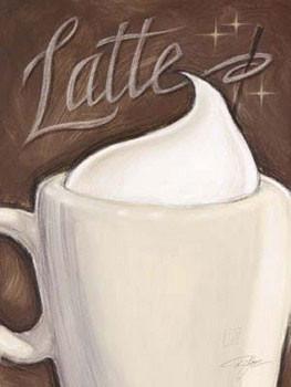 Latte, Obrazová reprodukcia