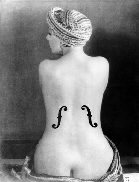 Reprodukce Le Violon d'Ingres - Ingres's Violin, 1924