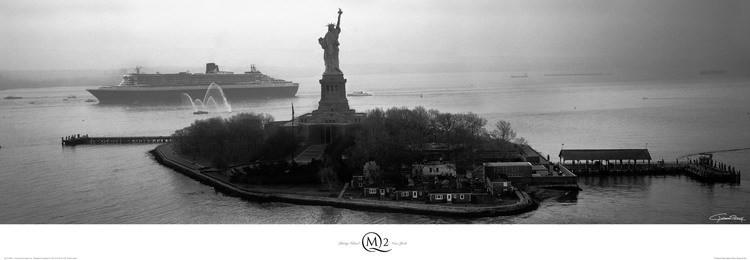 Reprodukce Liberty Island