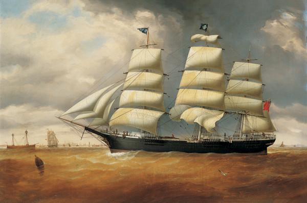 Reprodukce Loď Duncarin