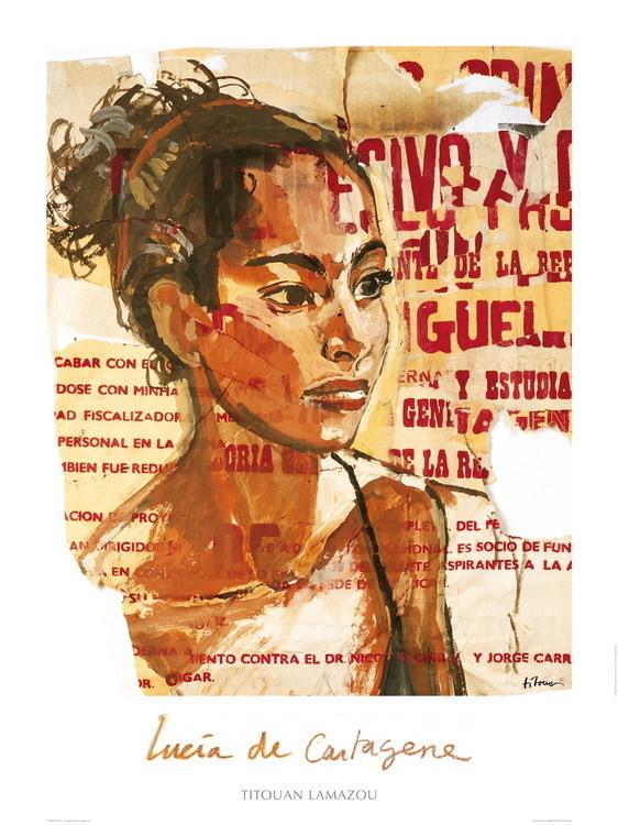 Lucia de Cartagéne - Colombie, Obrazová reprodukcia