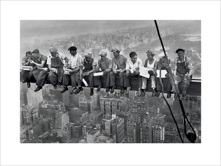 Lunch on a skyscraper , Obrazová reprodukcia